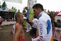 Olympijský maraton na Rio Lipno startoval v Nové Peci.