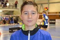 Krumlovský žák Patrik Fuciman vybojoval v Praze deblový bronz, ale ve dvouhře pozici nasazené trojky neobhájil.