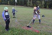 První luční golfový turnaj v Krasetíně.