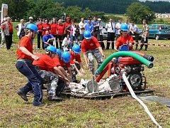 Zálužský sbor dobrovolných hasičů má aktivní partu zapálených soutěžících, kteří  chybějí jen málokdy na hasičských kláních v regionu.
