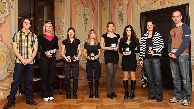 V desítce nejúspěšnějších sportovců Českokrumlovska letos najdeme zástupce šesti sportovních odvětví a netradičně mají tentokrát převahu dívky v poměru 6:4.