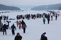Na začátku března 2018 se do Frymburka na bruslení sjely tisíce lidí.