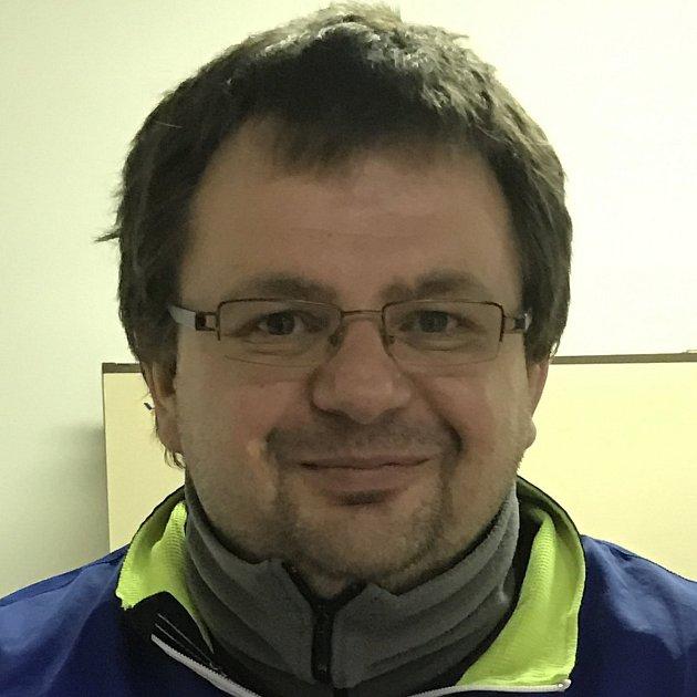 Předseda a šéftrenér českokrumlovského SK Badminton Radek Votava