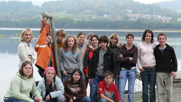Hornoplánští školáci překvapili, jaký mají cit pro focení. Jejich společná práce s rakouskými kolegy z Ulrichsbergu měla úspěch.