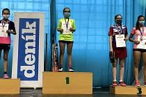 Českobudějovická sokolovna hostila oblastní přebory mládežnických kategorií v badmintonu. Krumlovští hráči si přivezli početnou sbírku medailí.