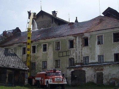 Bývalý klášterní pivovar ve Vyšším Brodu.