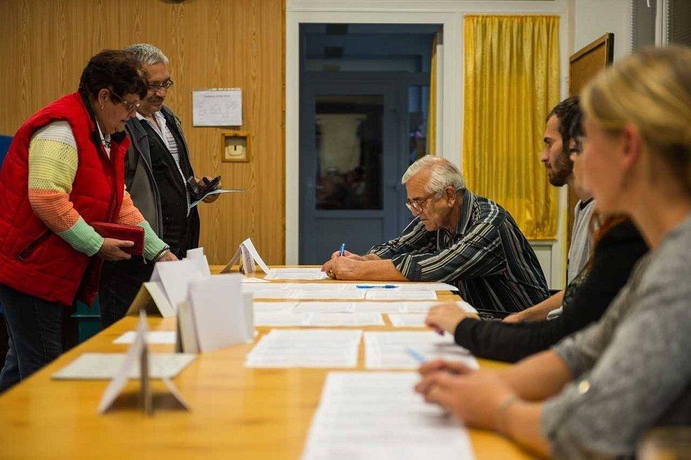 Ve velešínském okrsku č. 2, jehož komise čeká na voliče v kině, je 980 voličů.