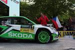 Starosta Českého Krumlova Dalibor Carda zahájil Rallye Český Krumlov 2019.