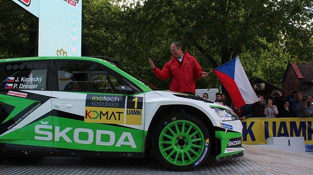 Zahájení Rallye Český Krumlov 2019
