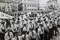 Mírová slavnost 29. června 1974.
