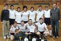 Vítězné družstvo fotbalistek kaplického Spartaku.