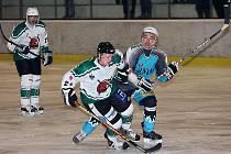 1. semifinálové utkání hokejové krajské ligy mužů / HC Slavoj Český Krumlov - HC Božetice 2:6.