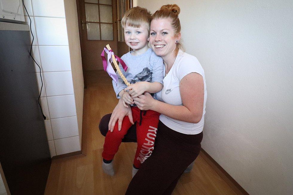 Lidé v Rychnově nad Malší drželi velikonoční tradice, i když jenom v rodinném kruhu.