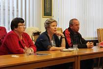 Setkání ohledně participativního rozpočtu na Městském úřade v Českém Krumlově.