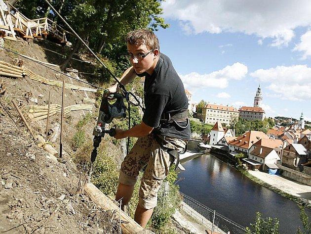 Horská zahrada nabídne turistům nové pohledy na Český Krumlov.