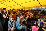 Krumlovský vodácký maraton je za námi. Po pátečním sprintu a sobotních maratonech byly v Pivovarské zahradě slavnostně vyhlášeny výsledky.