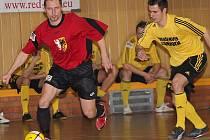 Čtvrtfinále 1. Red futsal ligy / Bombarďáci Větřní - VPS Novabrik Polička 3:3.