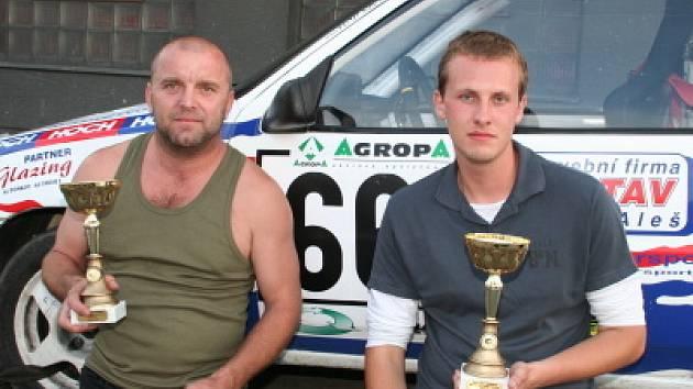 Jan Jinderle s Pavlem Kacerovským přivezli ze západu Čech zlato.