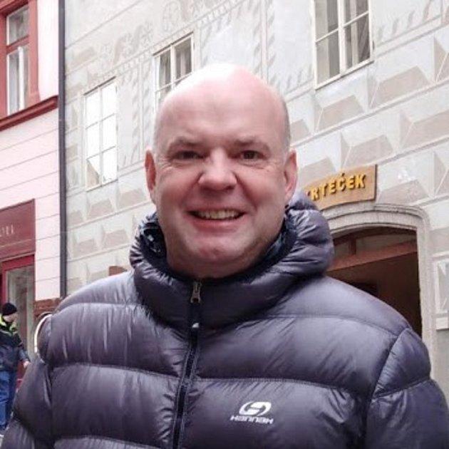 Krumlovský průvodce Stanislav Jungwirth.