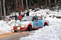 Jedinou českou posádkou na startu Winter Trialu 2018 budou Karel Mach a Jan Bláha se Škodou 130 RS (na snímku).