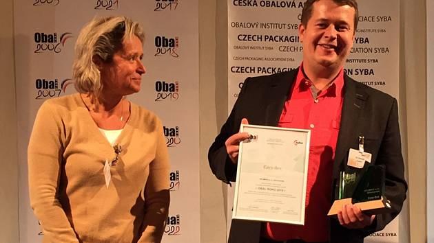 Společnost Velimpex získala ocenění Obal roku.