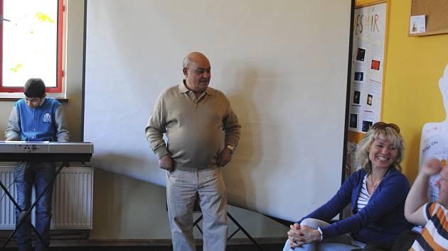 KoCeRo pořádalo přednášky pro gymnazisty.