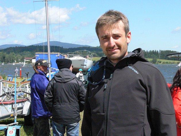 Roman Zach natáčel na Lipně.