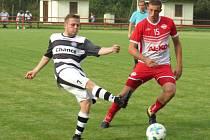I.A třída (skupina A) – 4. kolo (3. hrané): FK Spartak Kaplice (bíločerné dresy) – FC AL-KO Semice 4:1 (3:1).