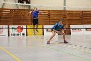 Oblastní badmintonový přebor staršího žactva U15 v Českém Krumlově.