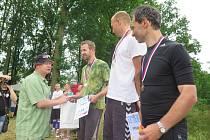 První triatlon v Dolním Třeboníně.