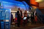 Kvartet Jihočeské filharmonie zahrála v lipenské elektrárně. Záběry jsou ze zkoušky a poté ze zahájení koncertu.
