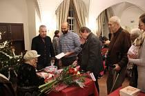 Křest knihy Českokrumlovský klášter vypravuje spisovatelky Heleny Braunové.