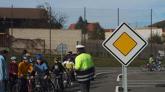 Na nové dopravní hřiště v Křemži budou moci i školáci z ostatních obcí.