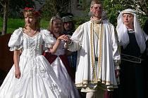 Sňatek pana Vítka s Bertou ze Schauenbergu.