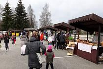 Jarní jarmark v Černé v Pošumaví.