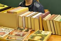 O víkendu přijďte na bruzu knih.