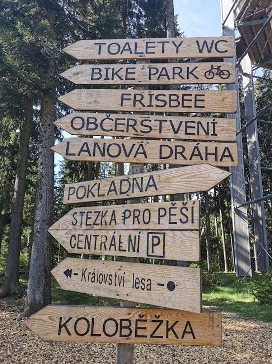 Lipno Servis - Active Park v Lipně nad Vltavou.