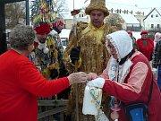 Tři desítky roztodivných masek prošly druhou únorovou sobotu Srnínem.