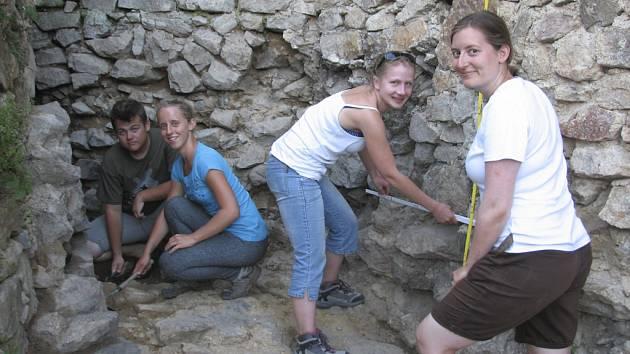 Archeologický průzkum na Pořešíně.