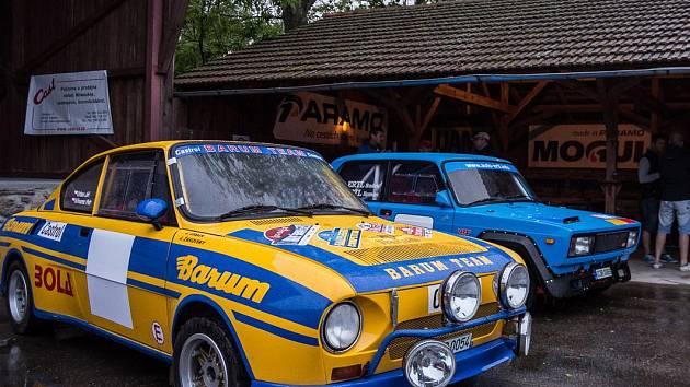 45. Rallye Český Krumlov začíná. Snímek je z loňského setkání na Holkově.