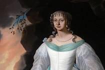 Perchtin slavný obraz namaloval v polovině předminulého století Karl Philippot.