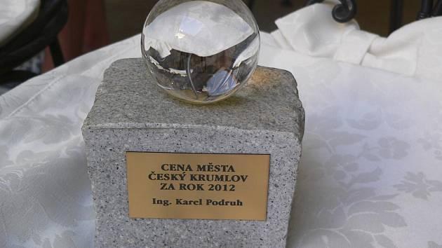 Cena města Český Krumlov.