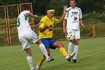 Přípravné fotbalové utkání / TJ Smrčina Horní Planá - FK Slavoj Český Krumlov B 0:3 (0:3).