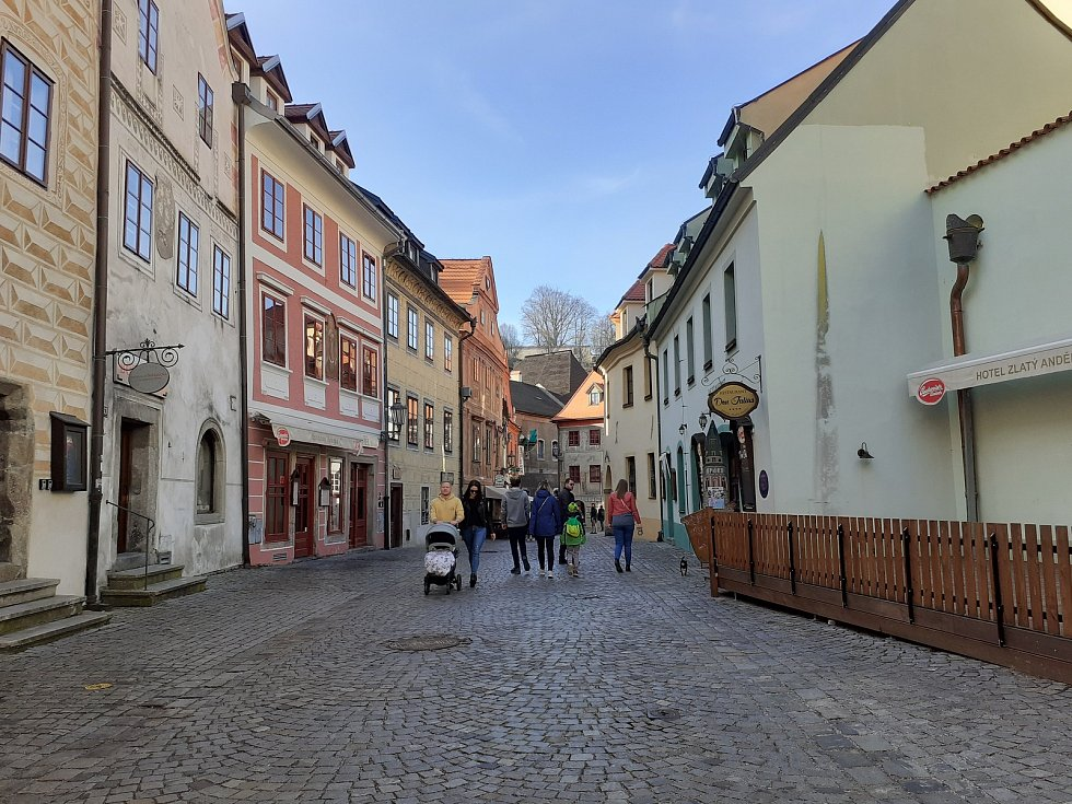 Kájovská ulice.