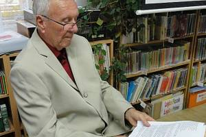 Spisovatel Jan Vaněček.