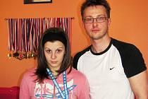 Vydařenou premiéru v národním dresu má za sebou kaplická Markéta Havlíčková, která posledními výkony určitě dělá radost i svému trenérovi Liboru Štěpánkovi (na snímku).