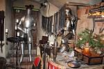 Adventní trh, řemesla a Rybníkáři na klášterním dvoře.