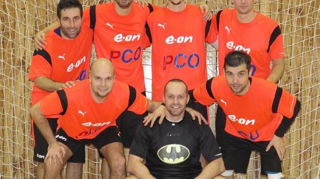 Vítězové 16. ročníku kaplického turnaje Žižka podlahy Cup – českobudějovický tým PCO.