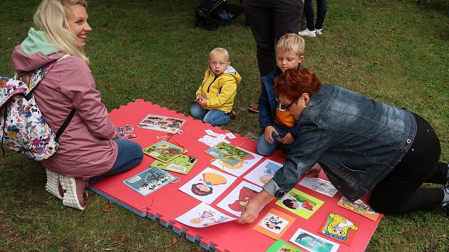 Den dětí českokrumlovského Domu dětí a mládeže, kde měla Městská knihovna Český Krumlov také své stanoviště