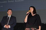 Slavnostní zahájení 20. ročníku festivalu Jeden svět v Českém Krumlově.